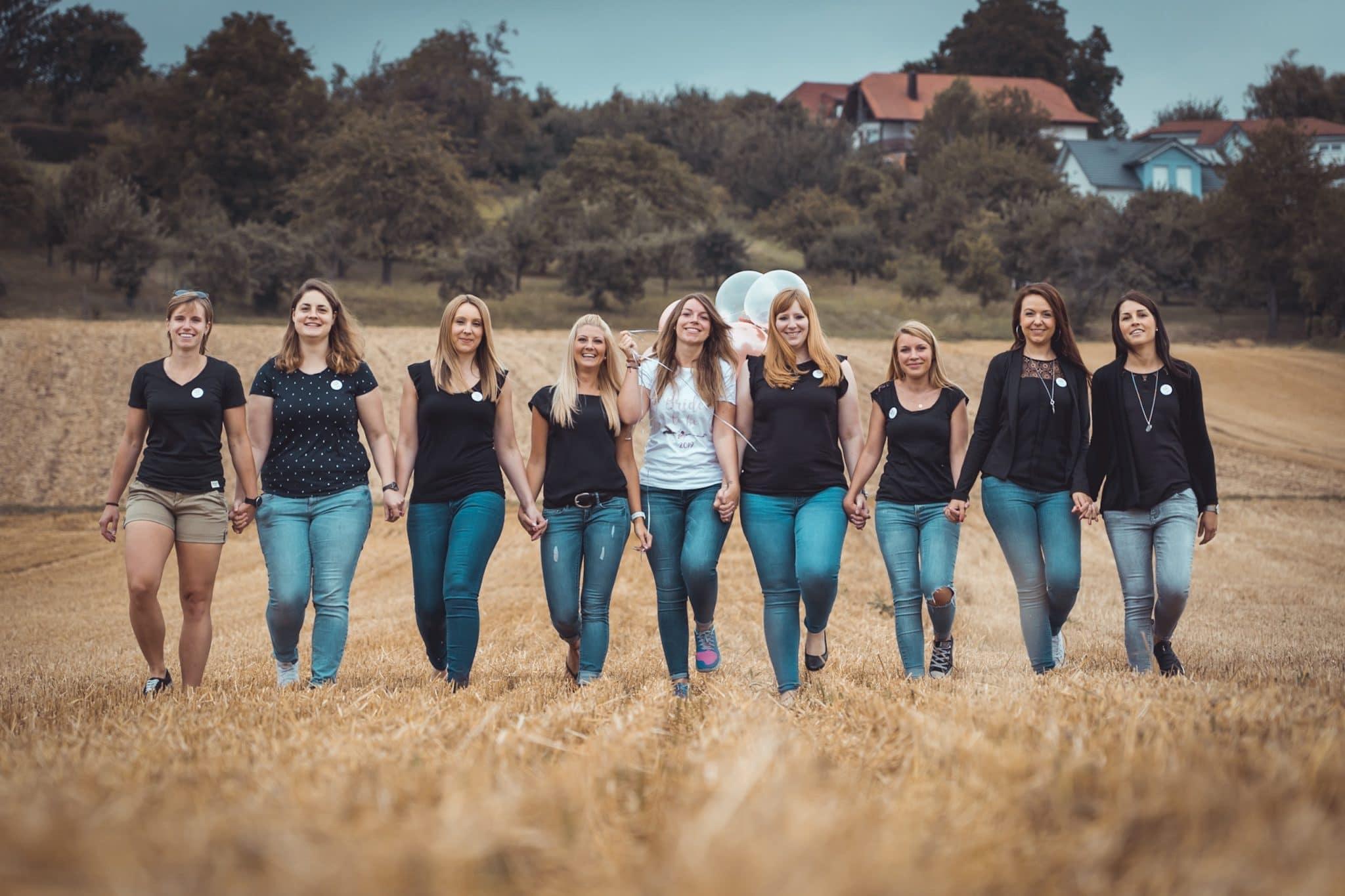 Mädels Fotoshooting Junggesellenabschied Heilbronn
